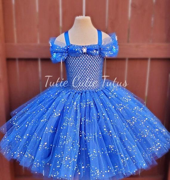 Tutu Princess tutu dress Princess Tutu Blue dress Tutu dress Cinderella inspired tutu dress Princess Cinderella Tutu