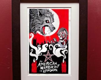 989e6743989 An American Werewolf in London Archival Art Print
