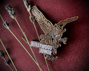Tower of Terror Hollywood Tower Hotel  Enamel Pin