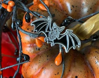 Plague Bat Enamel Pin