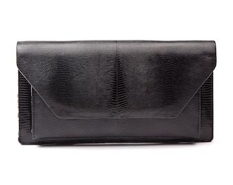 Black Clutch Bag - NICO