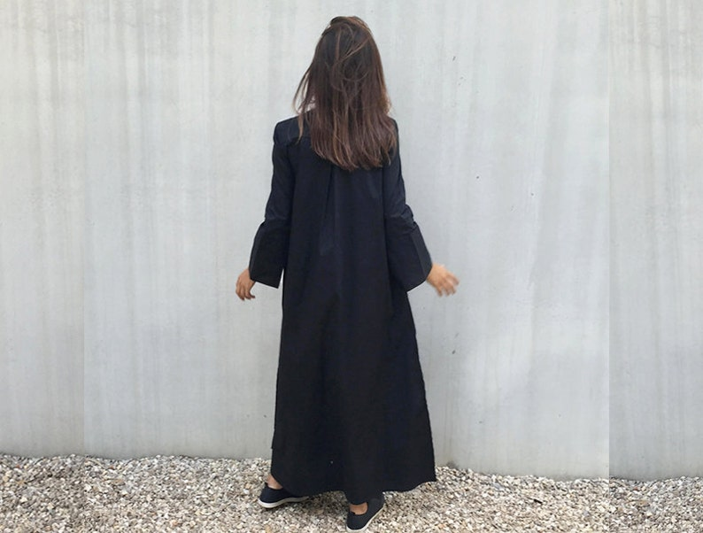 1d4502bfb7ac Kaftan Dress Long Black Dress Plus Size Clothing Caftan