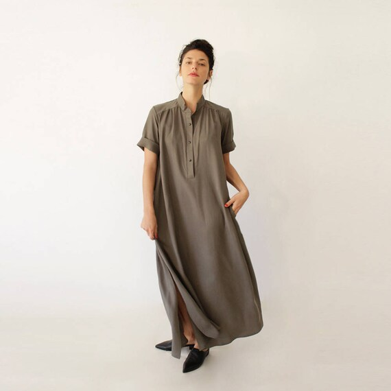 Oversized Dress Maxi Dress Loose Dress Party Dress For Plus Etsy