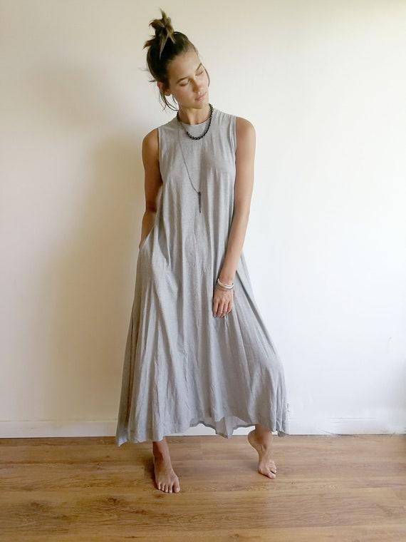 Plus Size Tank Dress, On Trend Dress, Comfy Plus Size Clothing, XXL Tank  Top Dress, Loose Plus Size Dress, Plus Size Beach Dress