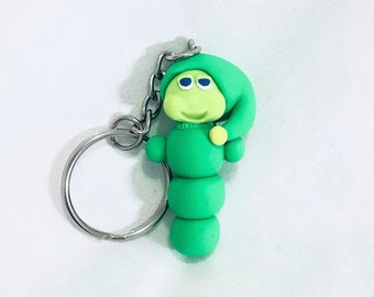 84a180ccf911 Glow Worm from the 80s Keychain