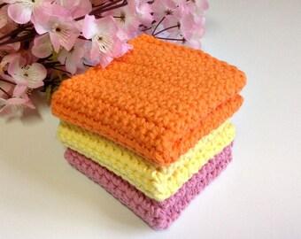 Crochet  / Cotton Dish Cloths