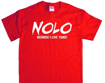 Ryott Designs NOLO Adult T-Shirt (RD-Shirts#004)