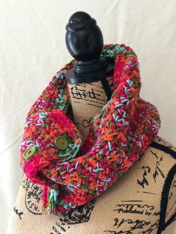 Crochet Infinity Cowl
