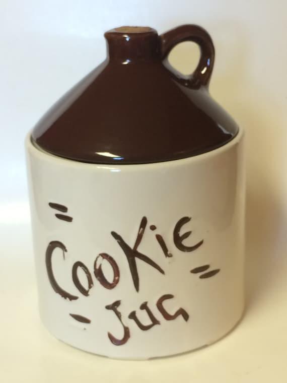 Vintage Brown Jug  Cookie Jar       Hull Pottery  circa 1950's