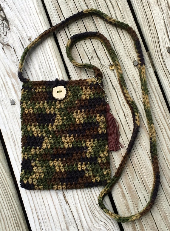 Petite Crochet Purse/Cross Body Bag