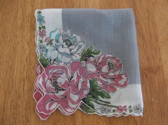 Vintage Cotton Handkerchief
