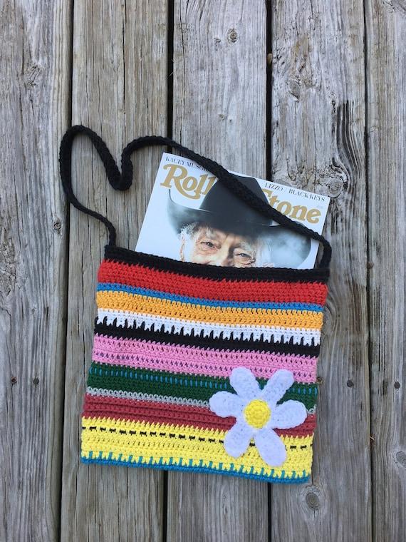 Boho Crochet Purse