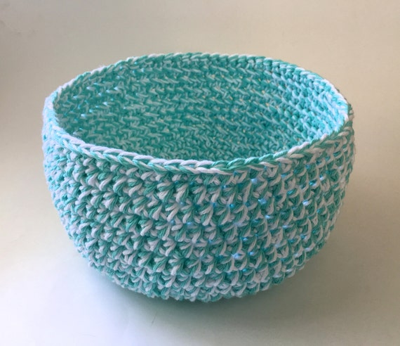 Medium Sized Handcrafted Basket    OOAK