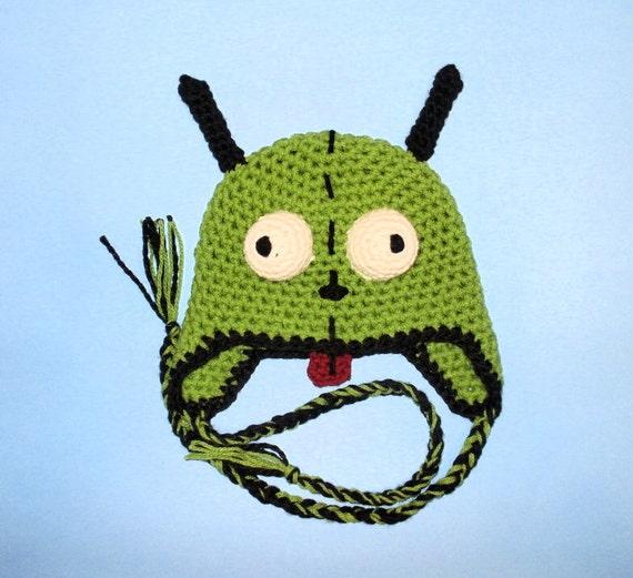 Crochet Pattern Pdf Gir Hat Beanie And Earflap All Sizes Etsy