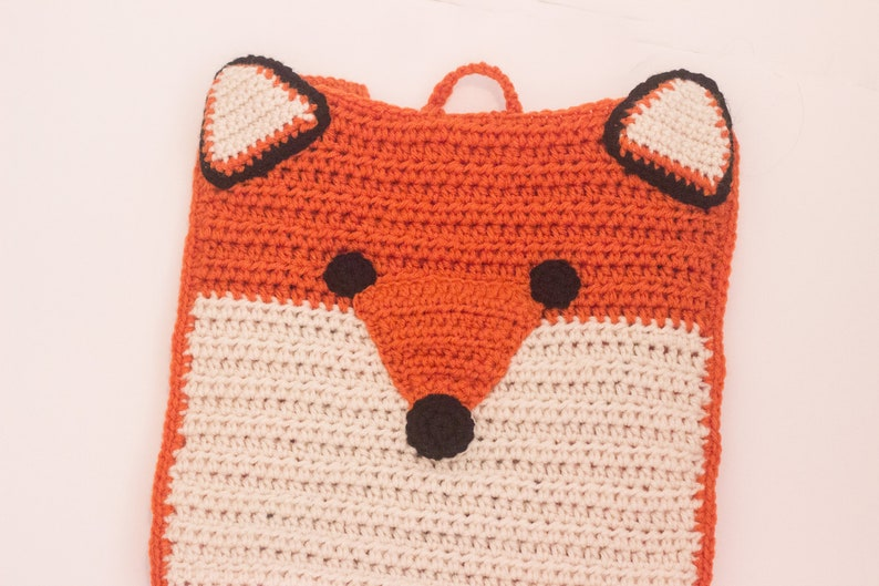 fox backpack little kids backpack animal backpack Back to School First day of school outfit Kids backpack