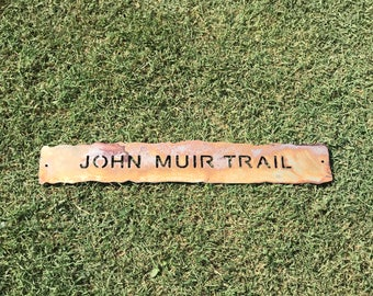 CUSTOMIZED trail sign