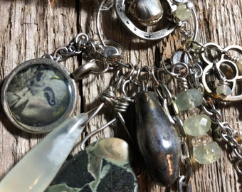 "The ""I QUIT"" OOAK Necklace by SusanARay of OneHealingStone #2029"