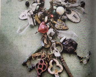 Keys to My Heart OOAK Necklace by SusanARay of OneHealingStone