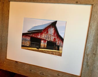 Our Red Barn (The Farm Collection)  by Susan A Ray of OneHealingStone Studio