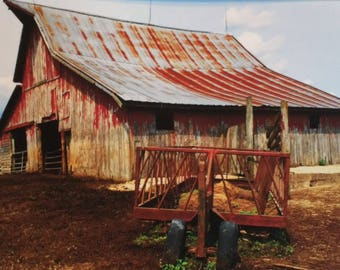 Long Day (The Farm Collection) by Susan A Ray of OneHealingStone Studio