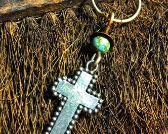 The Cross Talisman OOAK Necklace by SusanARay of OneHealingStone