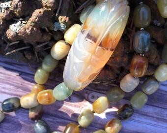 OOAK handcrafted OREGON COAST necklace by Susan Ray