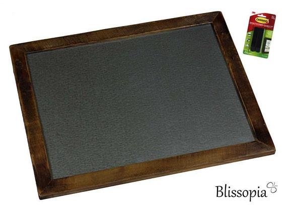 Magnetic Memo Board   Framed Magnetic Board   Kitchen Organizer   Spice  Rack   Magnetic Organizer   Wood Memo Board   Notice Bulletin Magnet
