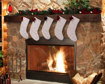 Removable Stocking & Accessory Hangers - Mantel Add On