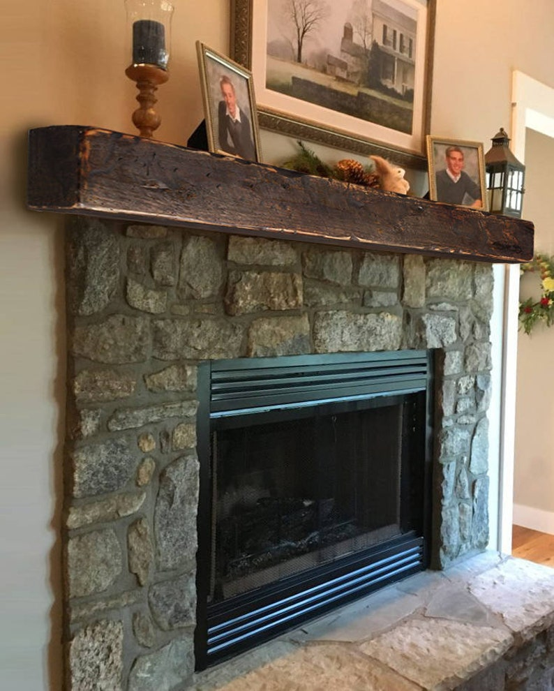 Magnificent Fireplace Mantle 8X8 Farmhouse Mantel Rustic Modern Mantle Thick Shelf Fireplace Surround Beam Shelf Cottage Mantel Home Interior And Landscaping Ologienasavecom