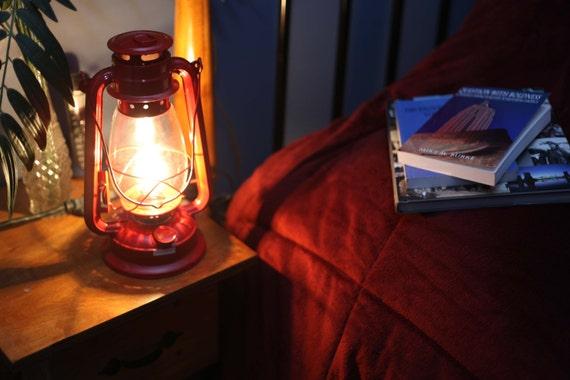 Electric lantern table lamp red lantern electric hurricane aloadofball Images