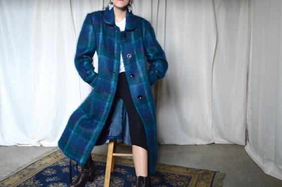 3f92027e462ce0 Wollmantel Blau Kariert   Wollmantel Trends, Klassiker & Styling-Ideen