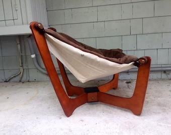 Local Pickup. Midcentury Luna Chair by Odd Knutsen