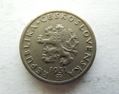 Czechoslovakia Coins, 1 Haler to 2 Koruny, 1921-1991 Several Years, See Variations Sell By The Piece