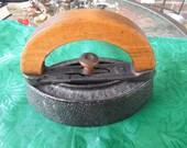 Vintage Iron, Enterprise Manufacturing Company, Philadelphia 50, 1800s, Excellent Condition