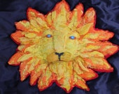Lion head, Leo sun needle...