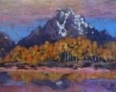 Mount Moran, Grand Teton ...