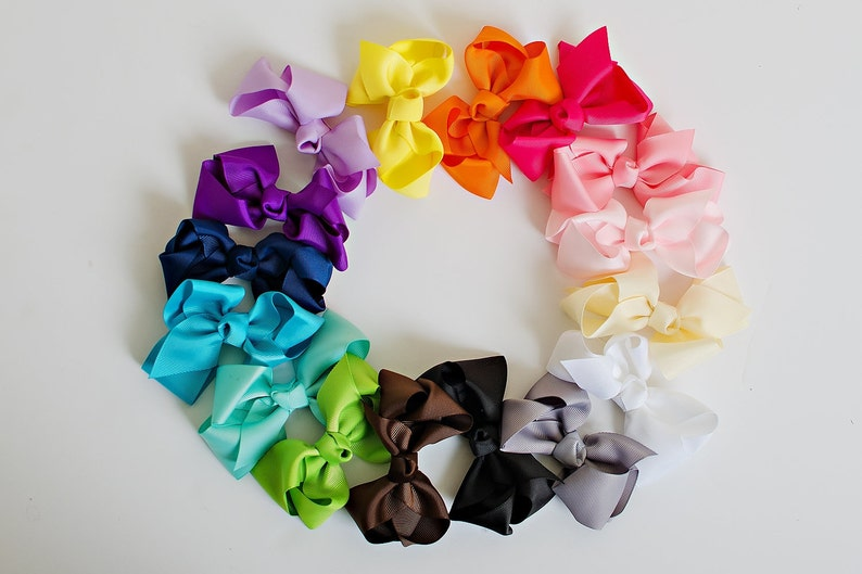 Baby Girl Bows.Baby Bows.Boutique Bows.Hair image 0