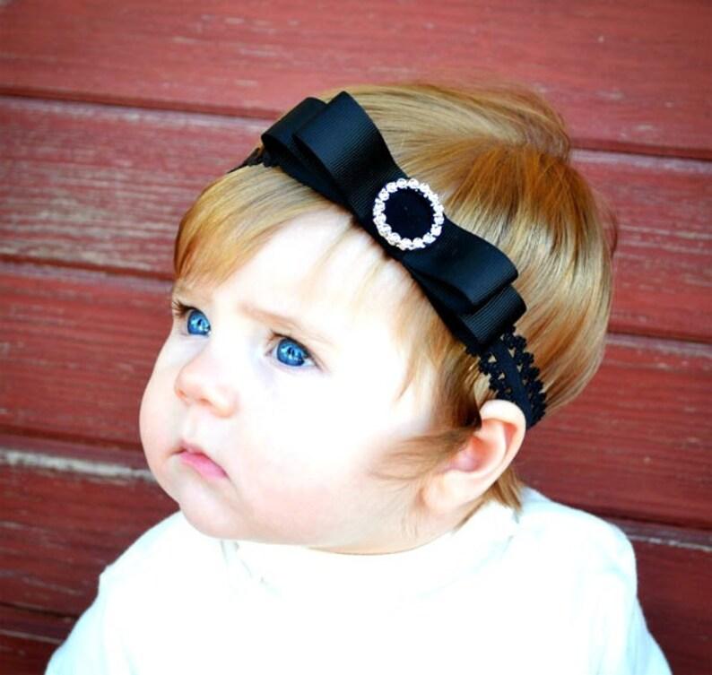 Baby Lace Headband.Baby Girl Lace Headband.Lace Headband.Baby image 0