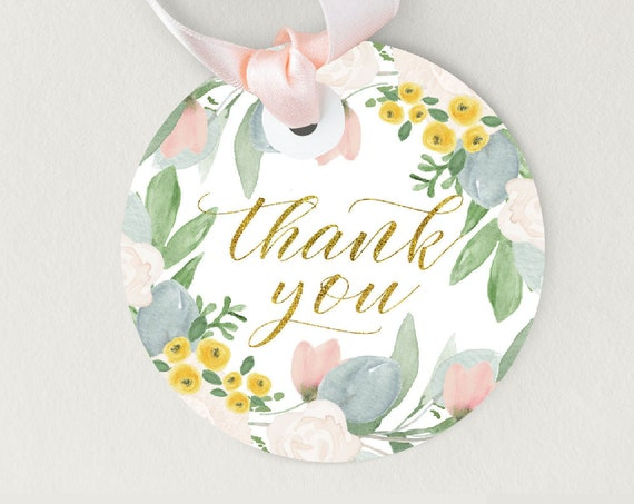 Favor tags to match any invitation in our shop - matching favor tags -  printable favor tag - party stationery - thank you tags