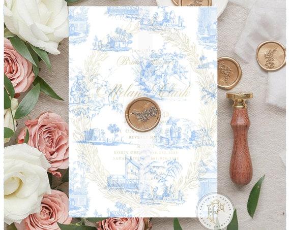 Printed Vellum Sheets, Vellum paper, Patterned vellum, decorative vellum, Chinoiserie vellum paper, scrapbook paper, ginger jar vellum paper