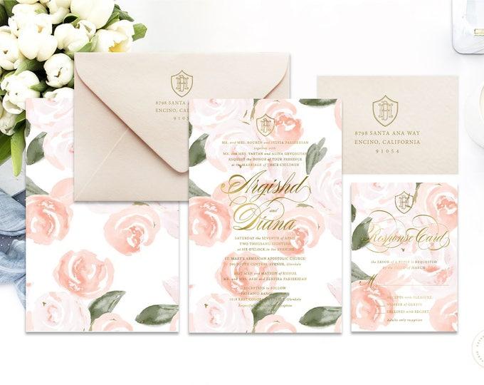 Classic Wedding Invitation | Wedding invitation | Calligraphy Wedding Invitation | Calligraphy invitation | Fancy Wedding invitation | 102