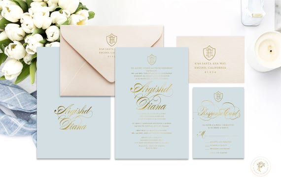 Classic Wedding Invitation | Wedding invitation | Calligraphy Wedding Invitation | Calligraphy invitation | Fancy Wedding invitation | 111