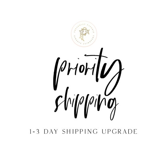 Priority Express Shipping Upgrade - 1-3 day shipping upgrade