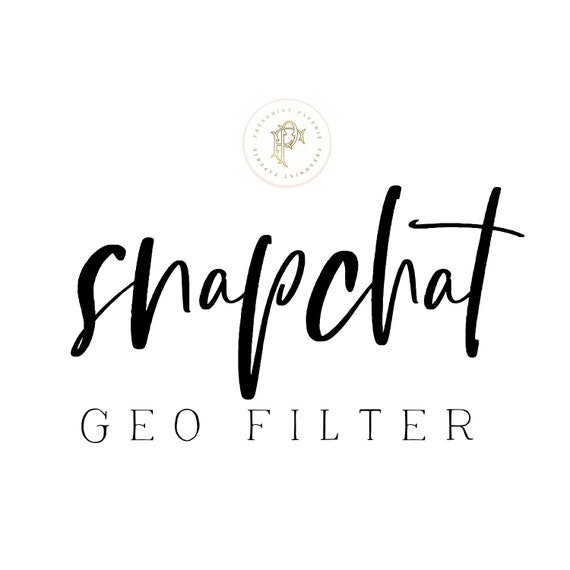 snapchat geo filters - Custom geo filter - snapchat filter - birthday geo filters - birthday snapchat filter - Freshmint Paperie