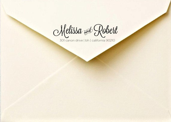 Calligraphy return address labels - printable address labels - calligraphy  - custom envelope labels