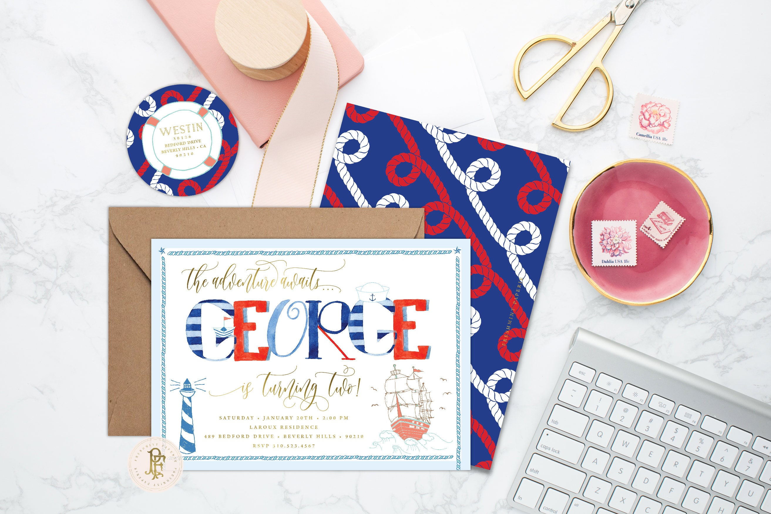 nautical invitation nautical birthday invitation nautical