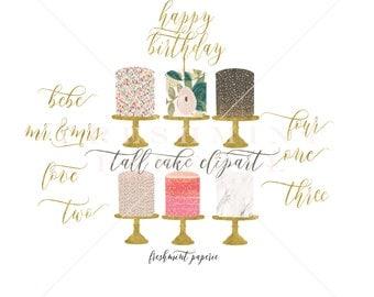 watercolor cake clipart - cake clipart - confetti cake clipart - watercolor clipart - watercolor cake clipart - freshmint paperie