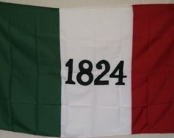 3x5 Embroidered Alamo 1824 Texas 600D 2ply Nylon Flag