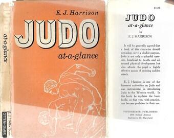Judo At-A-Glance by E. J. Harrison 1956