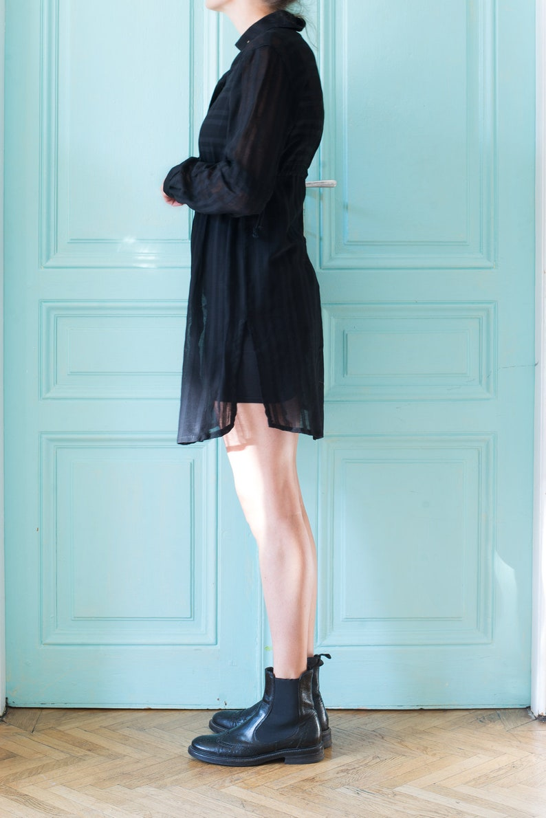 Longbluse Black Lady